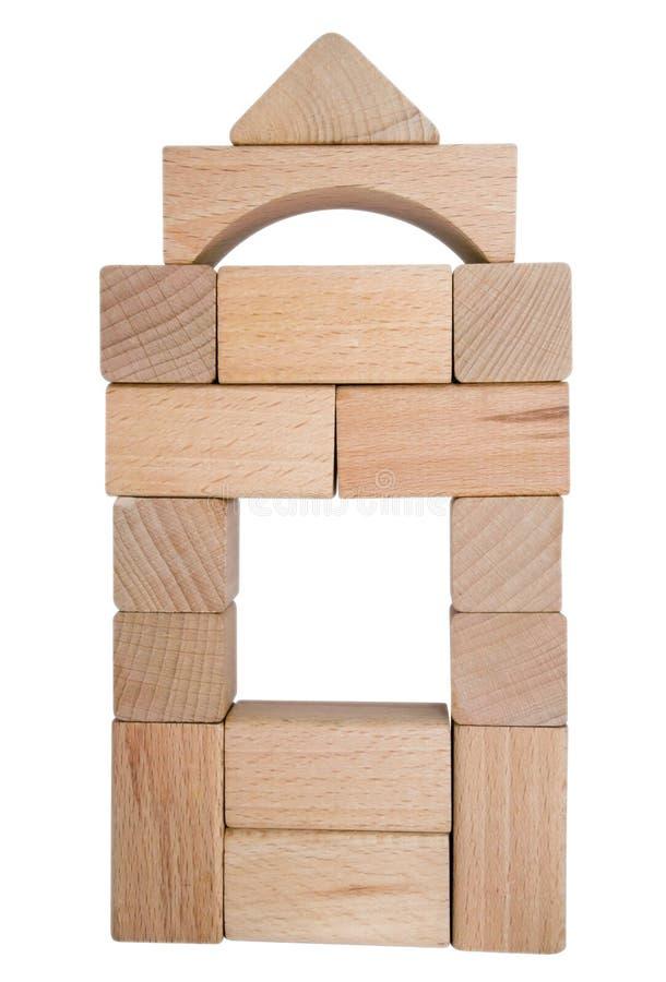 blokuje drewnianego obrazy stock
