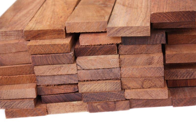 blokuje drewno obrazy stock