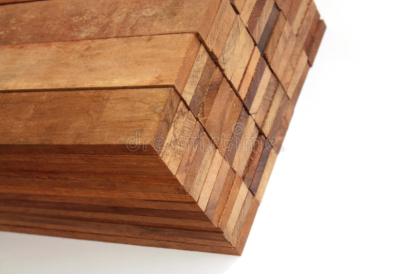 blokuje drewno obraz royalty free