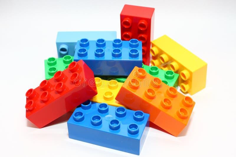 blokuje lego zdjęcie stock