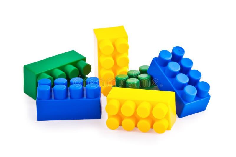 blokuje lego zdjęcia stock