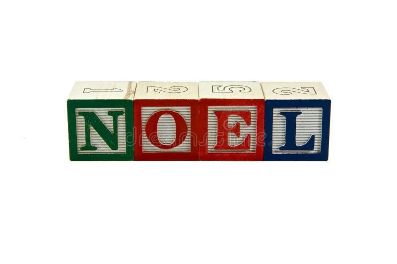 blokuje nowego noel zdjęcia stock