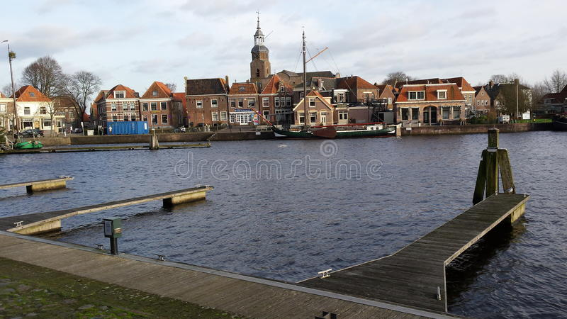 Blokzijl, Países Baixos fotografia de stock royalty free