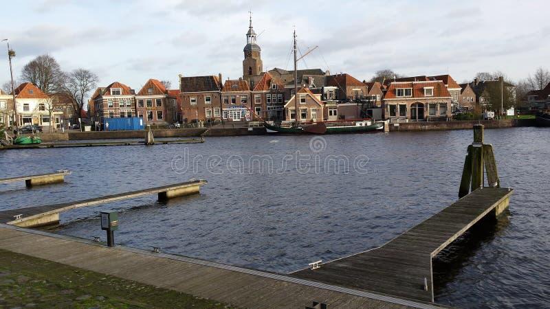 Blokzijl, Países Bajos fotografía de archivo libre de regalías