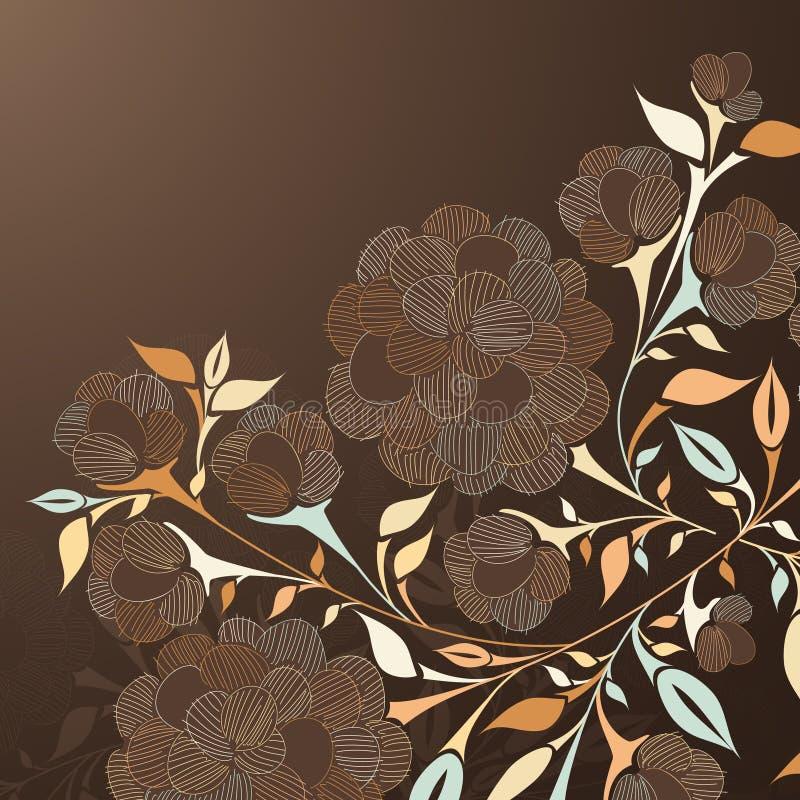 Download Blom- bakgrund vektor illustrationer. Illustration av design - 19775121