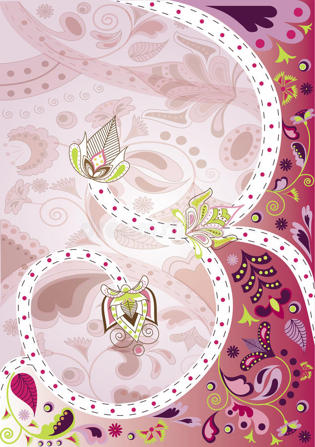 Blom- bakgrund royaltyfria foton