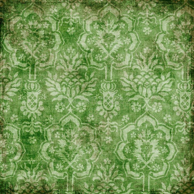 blom- bakgrundsbohem royaltyfri illustrationer