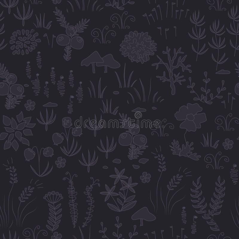 Blom- bakgrundstextur stock illustrationer