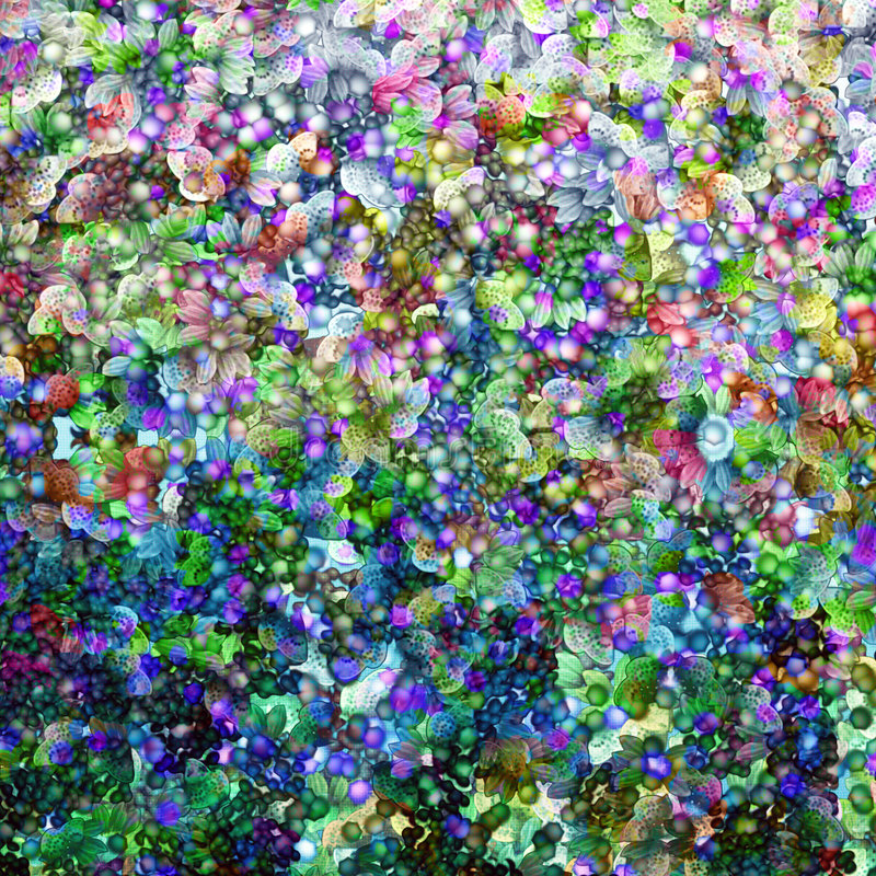 Blom- bröllop stock illustrationer
