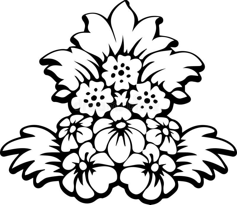 Blom- bukett royaltyfri fotografi