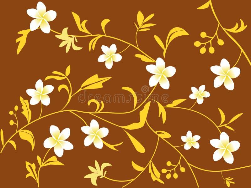 blom- design stock illustrationer