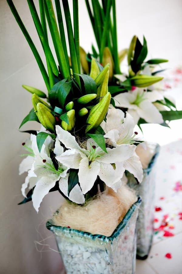 Blom- garnering för händelser arkivbilder