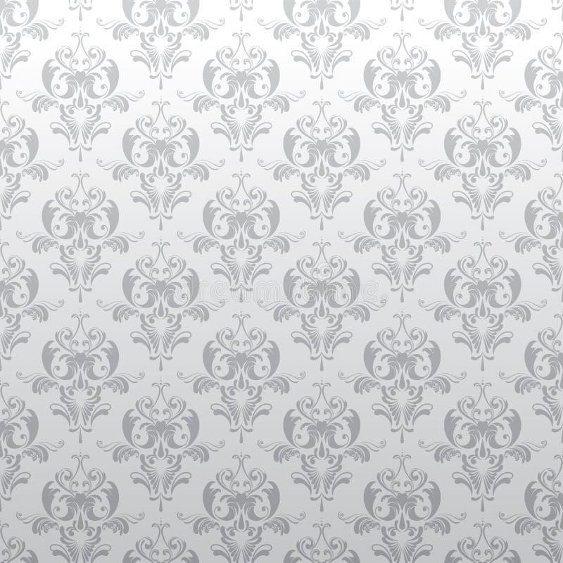 Blom- grå färgmodell för bakgrund stock illustrationer