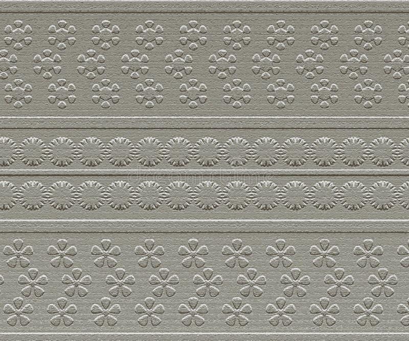 blom- grå faktura arkivfoto