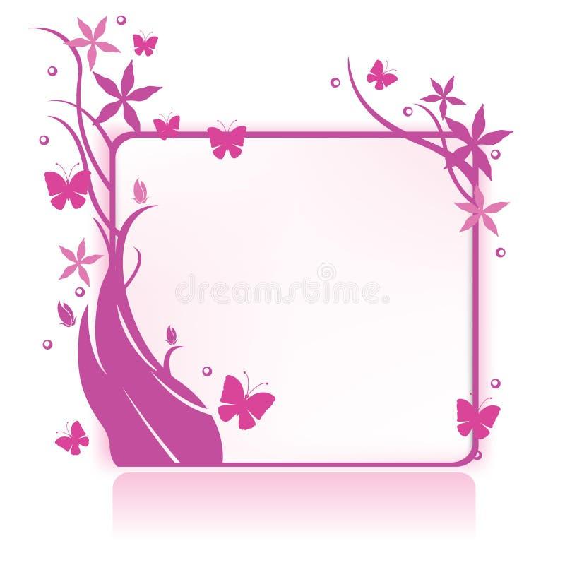 blom- green för bakgrund royaltyfri illustrationer