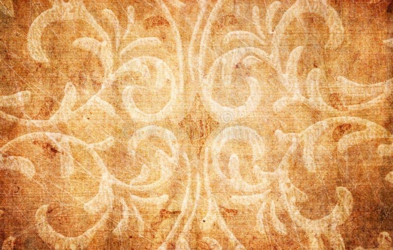 blom- grungepapper för element royaltyfri bild