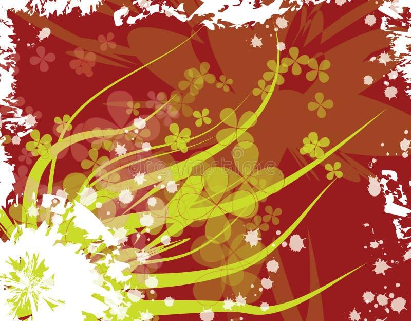 blom- illustration royaltyfri illustrationer