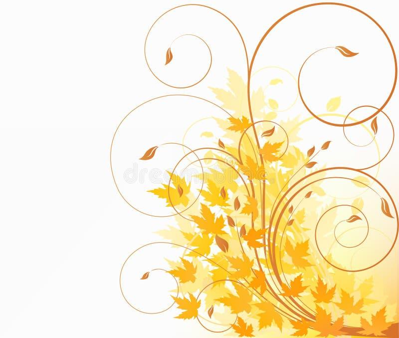 blom- illustration för design stock illustrationer