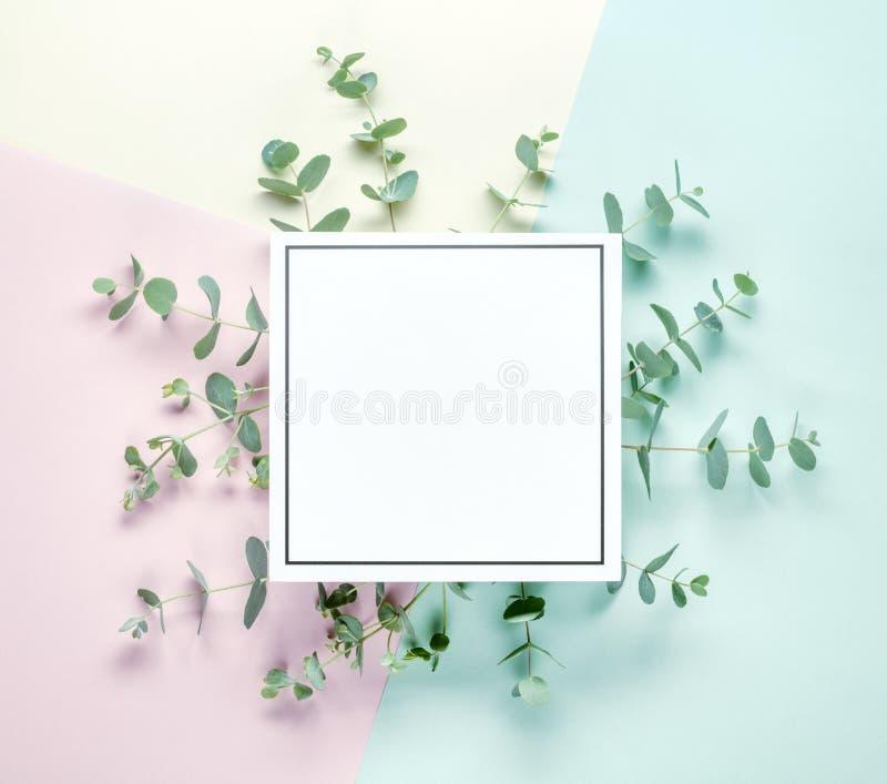 blom- invitera arkivbild