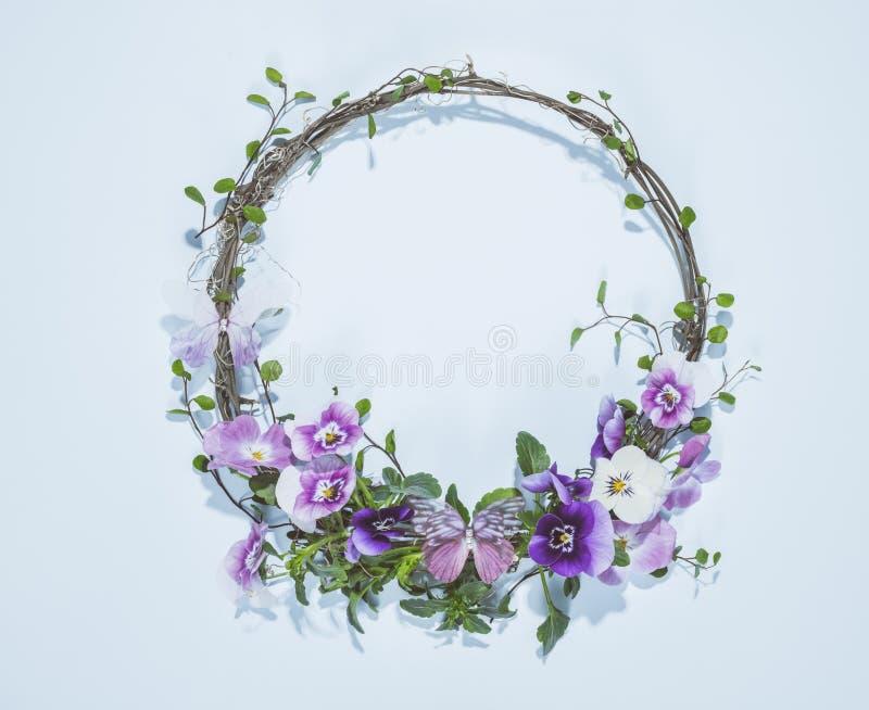 Blom- krans royaltyfria bilder