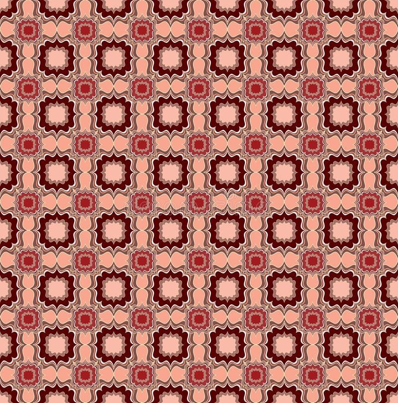 Blom- linje textur. Abstrakt etnisk sömlös bakgrund. vektor illustrationer