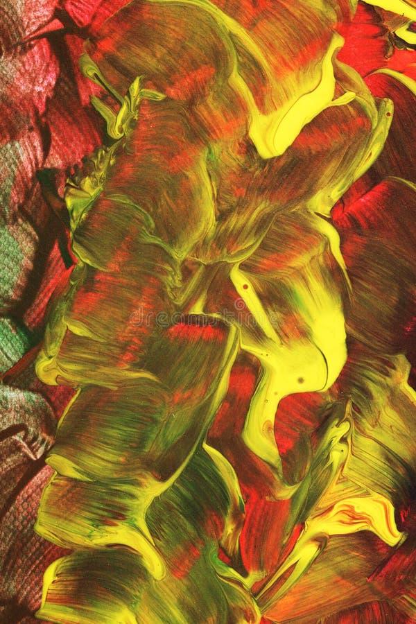 Blom- målad abstrakt bakgrund royaltyfria foton