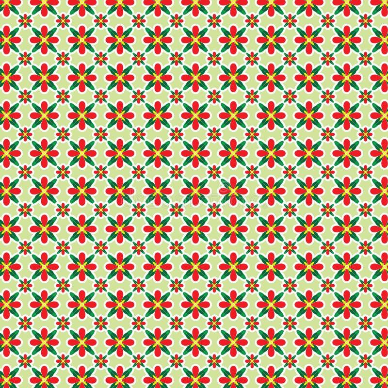 blom- modell royaltyfri illustrationer