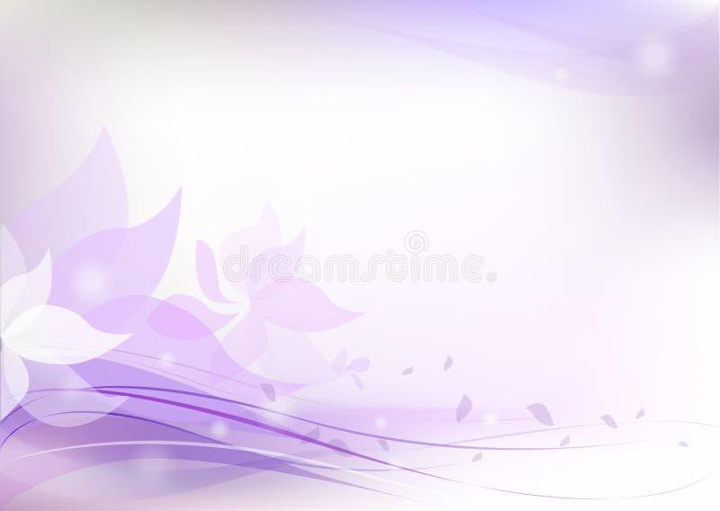 blom- modell för bakgrund royaltyfri illustrationer