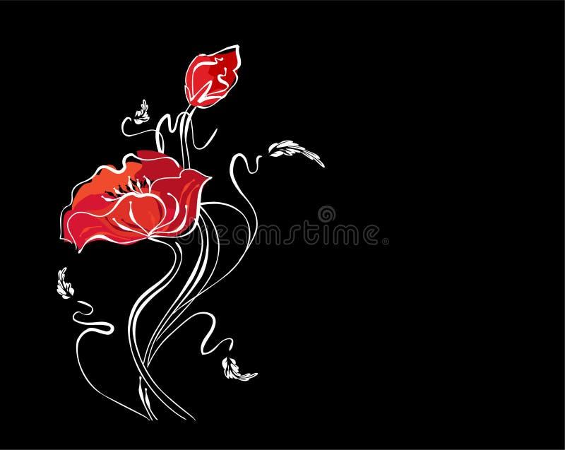 Download Blom- nätt för bakgrund stock illustrationer. Illustration av natur - 3546663