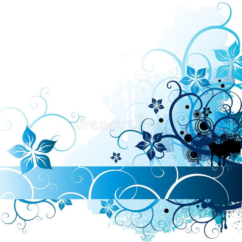 blom- naturligt för element stock illustrationer