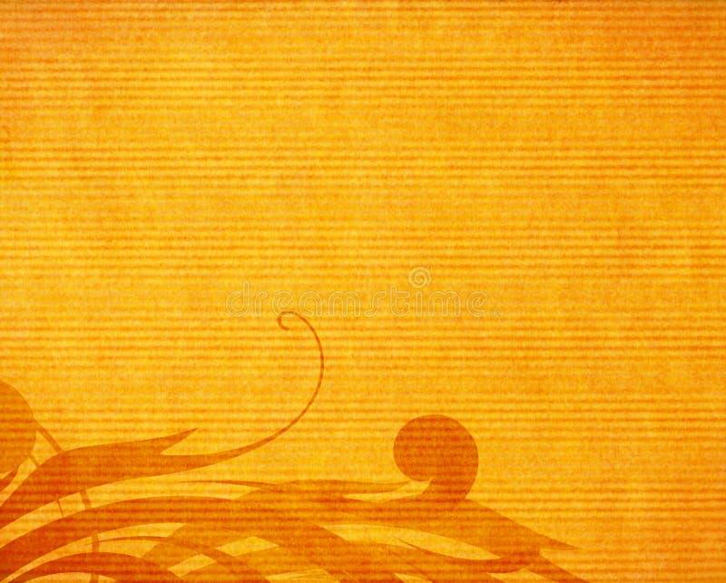 blom- paper textur för design royaltyfri illustrationer