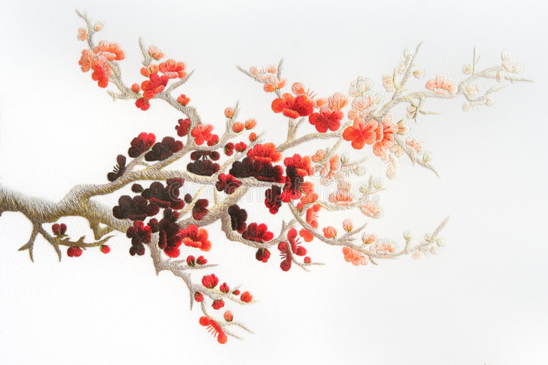 blom- prydnad arkivbilder
