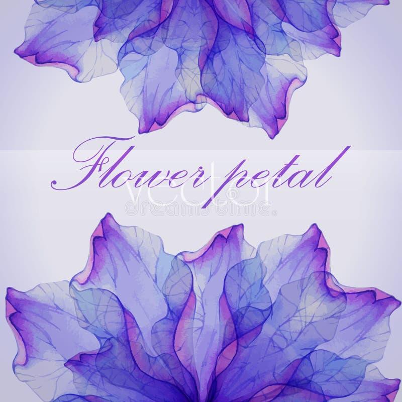 Blom- rundamodeller för vattenfärg royaltyfri illustrationer