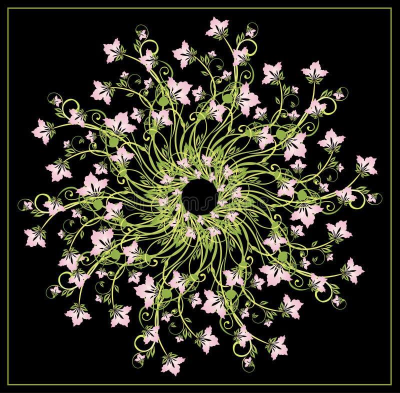 blom- sammansättning vektor illustrationer