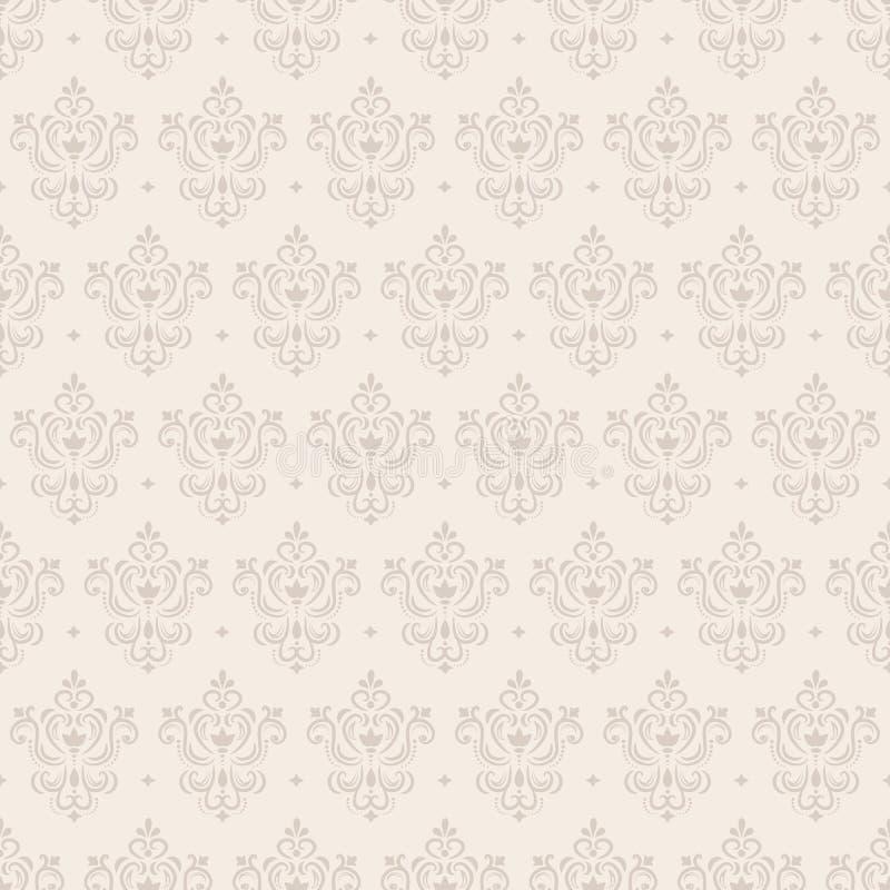 blom- seamless wallpaper stock illustrationer