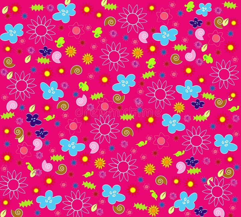 Blom- seamless wallpaper