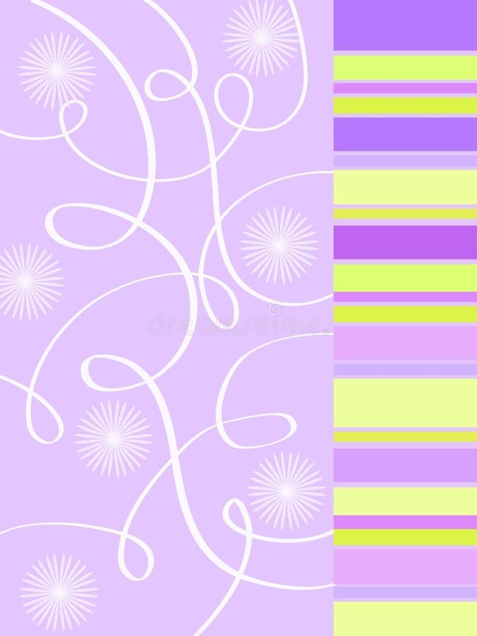 blom- skraj för design vektor illustrationer