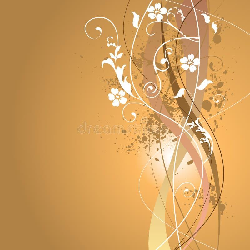 blom- sommar för bakgrund royaltyfri illustrationer