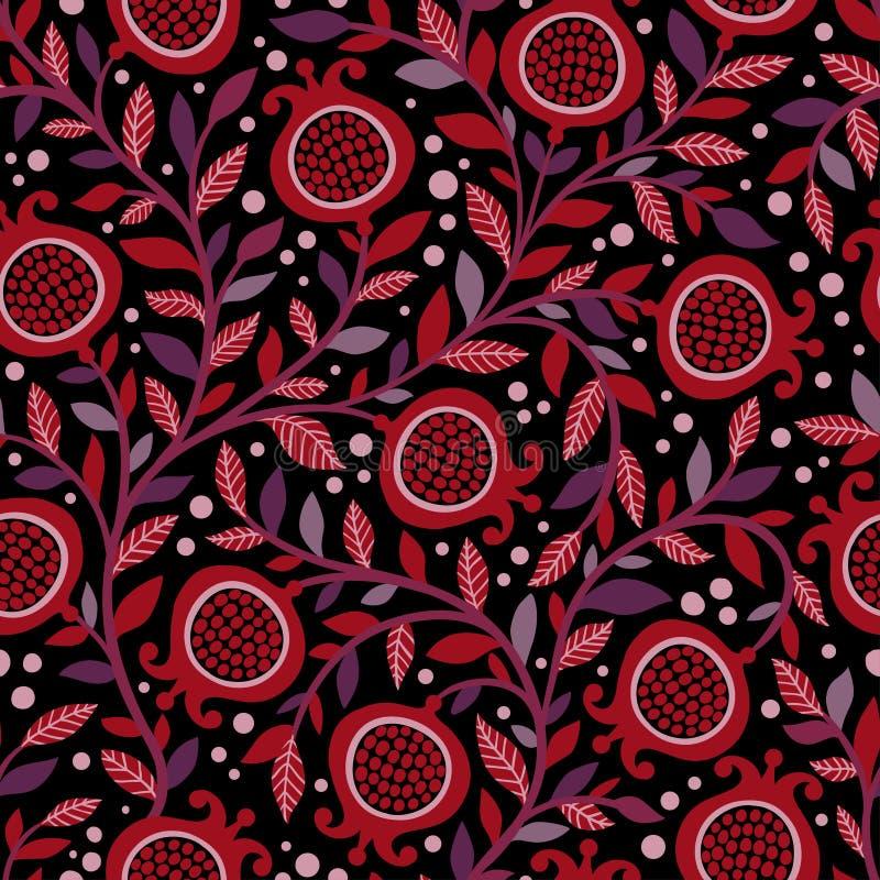 blom- upprepa för bakgrund Naturlig trycktextur royaltyfri illustrationer
