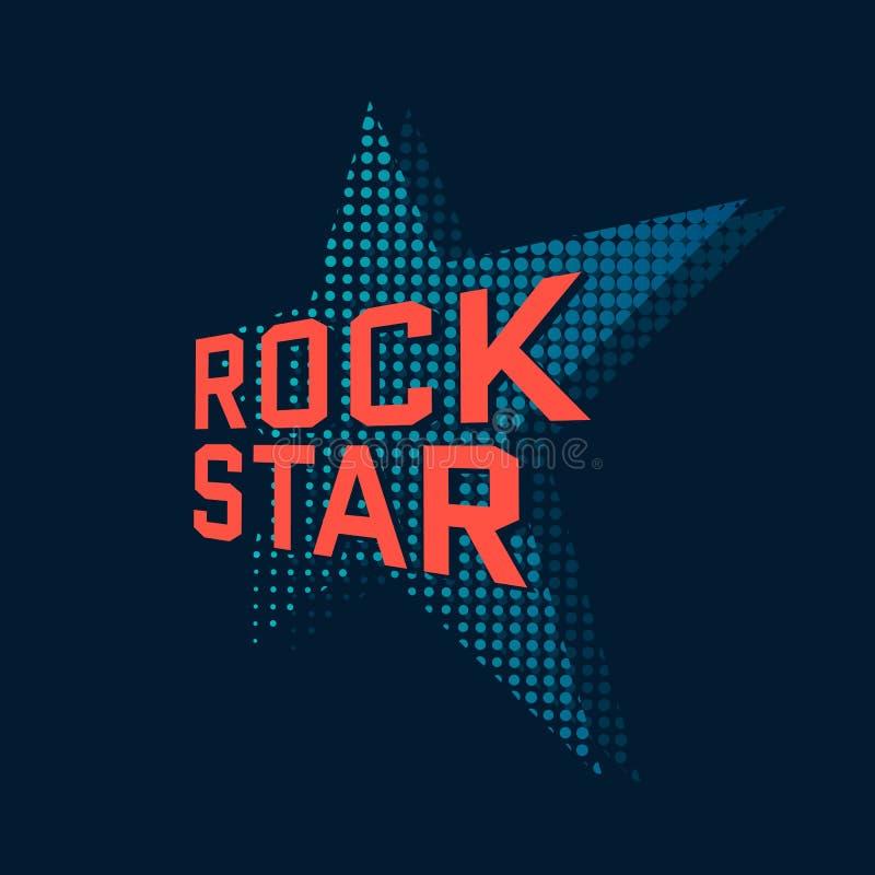blom- vattenfärg för stjärna för rock för grungemikrofonprydnad vektor illustrationer