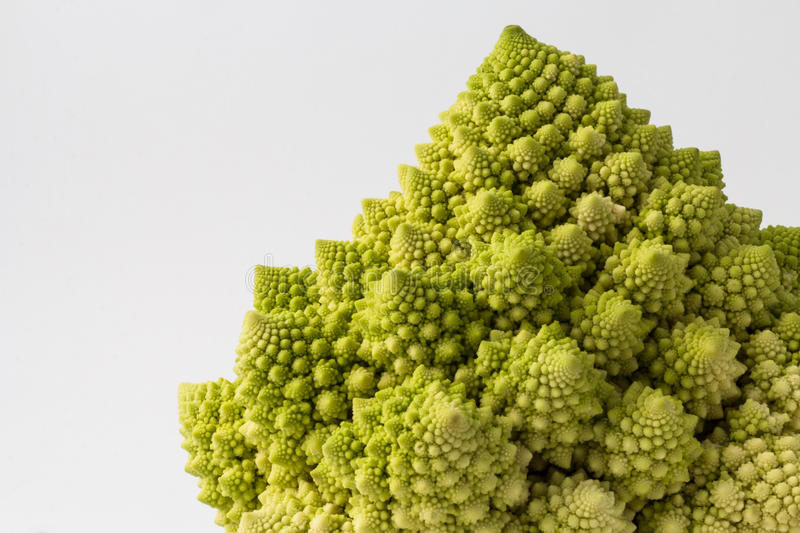 BlomkålRomanesco broccoli royaltyfri bild