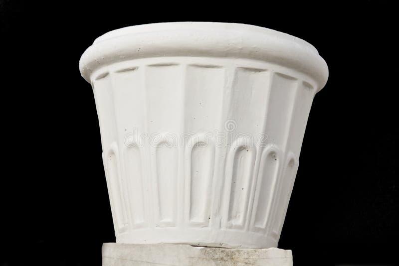 blomkruka gjord marmor arkivbild