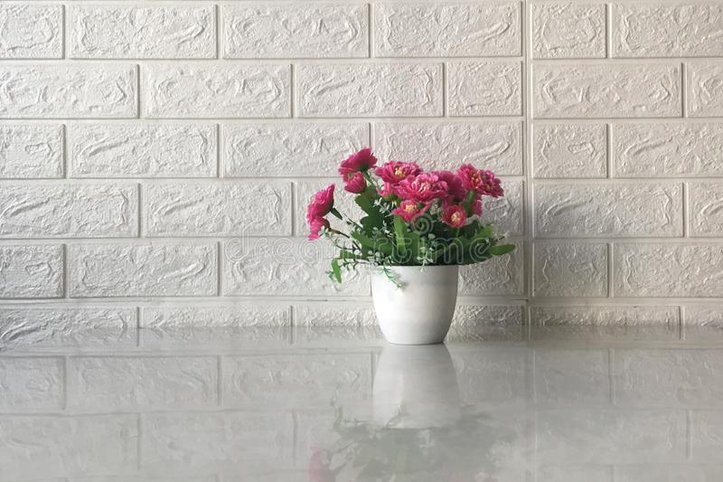 blomkruka p? bakgrunden arkivfoto