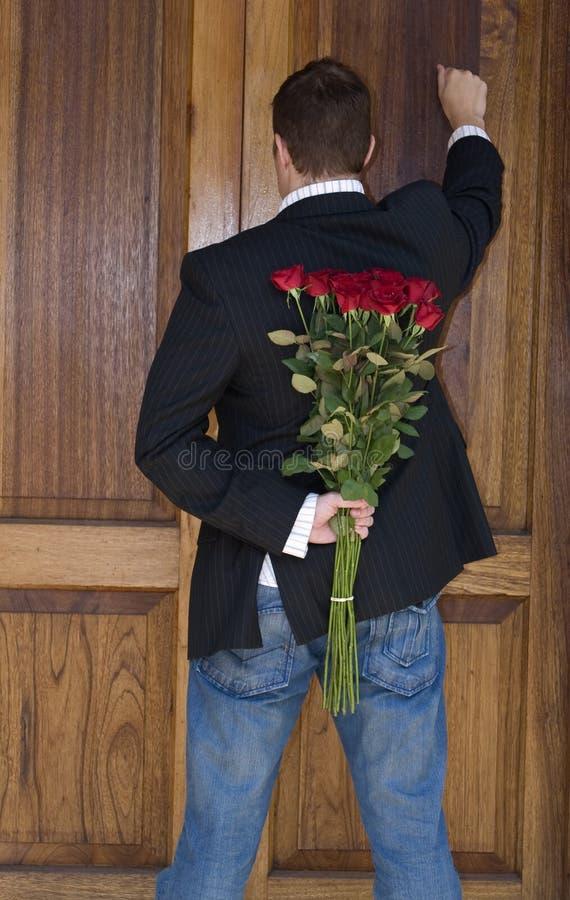 blommaöverrrakning royaltyfria bilder
