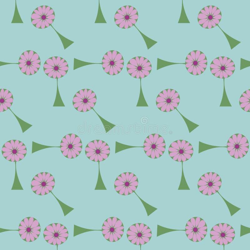 Blomma stock illustrationer