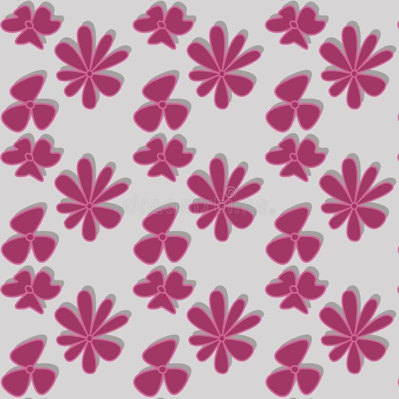 Blomma vektor illustrationer