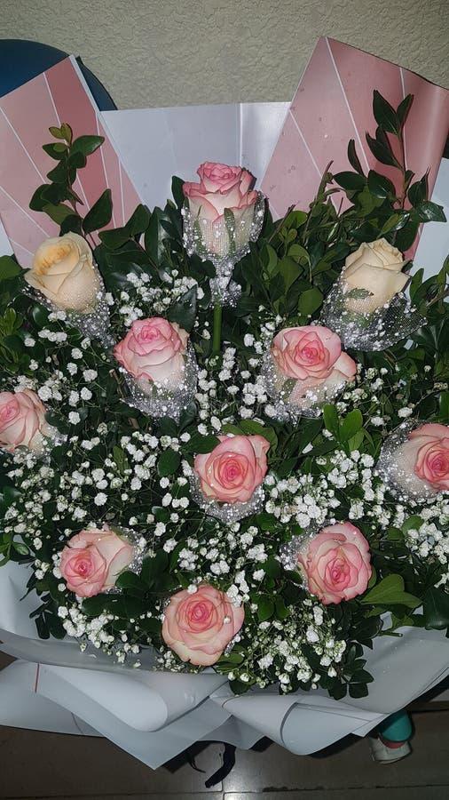 Blomma för min födelsedag arkivbild
