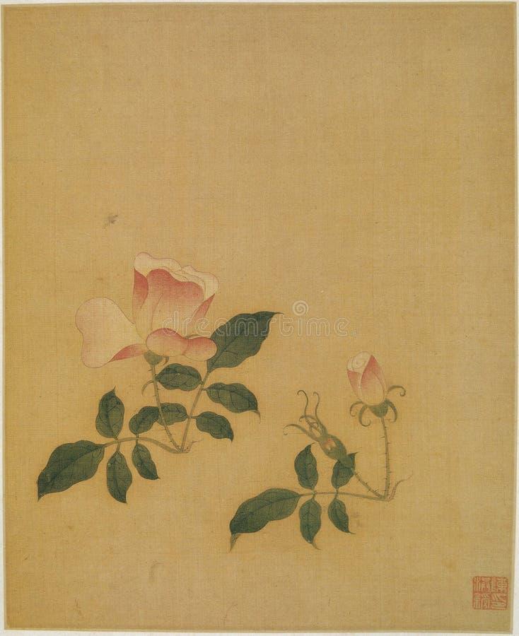 Blomma för vattenfärg arkivfoton