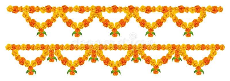 Blomma garneringen vektor illustrationer