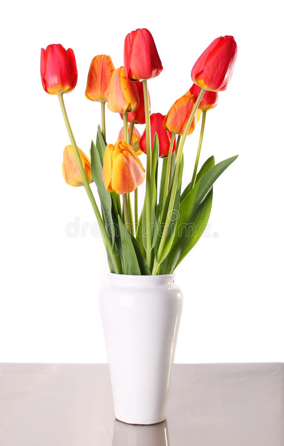 Blomma i porslin arkivbild